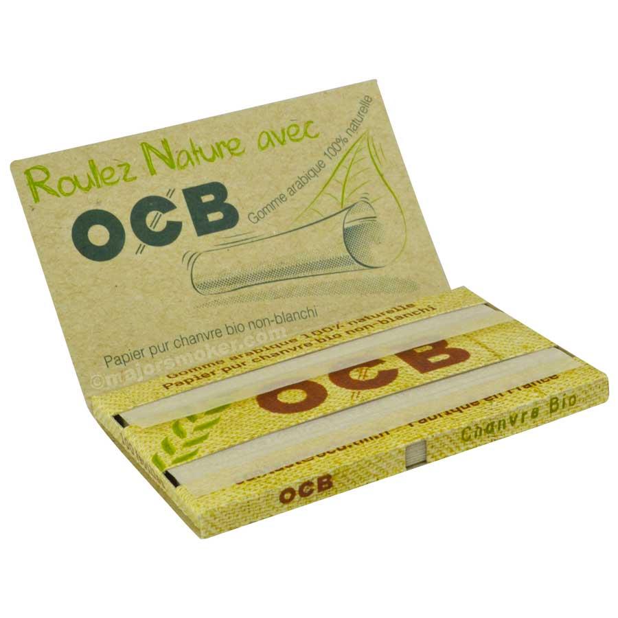 OCB feuille papier naturelle non blanchi petit format pas cher