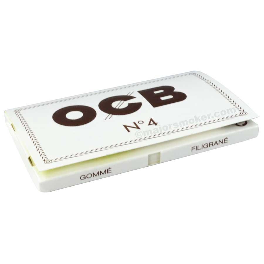 OCB blanc n°4, Feuilles courtes, pas cher