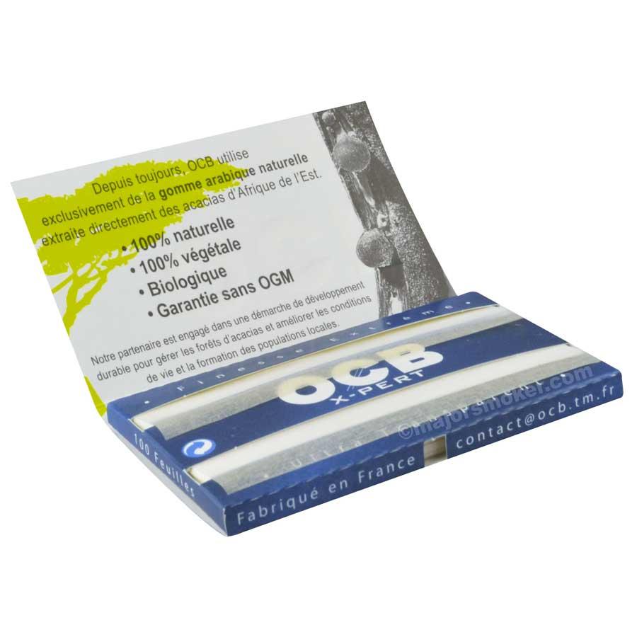 OCB double premium feuille courte papier pas cher