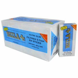 RIZLA, filtre stick, filtres en mousse, filtres Rizla, filtre anti-nicotine, filtres Rizla sticks, Paquet de cigarette