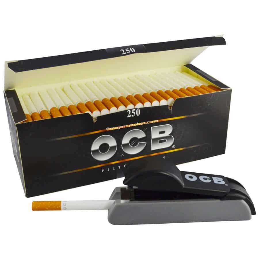 tube cigarette ocb, tubes tabac ocb, ocb tubes boite