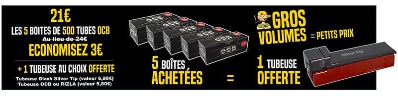 Tube cigarette OCB 500, Tubes OCB, Tube ocb 500, OCB Tube 500