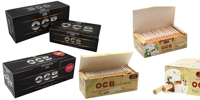 Prix tube à cigarette OCB