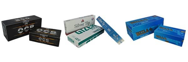 Tube cigarette pas cher, prix tube cigarette, prix tube ocb