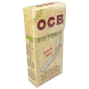 Filtres, Filtre BIO OCB, OCB, rouleurs de cigarette, Filtre ultra slim biodégradable, filtres biodégradables, filtre en acétate, filtre OCB stick bio, filtre OCB Bio pas cher