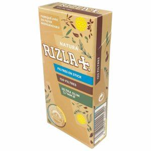 filtres, Filtre BIO Rizla, RIZLA, rouleurs de cigarette, Filtre ultra slim biodégradable, filtres biodégradables, filtre en acétate
