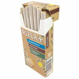 Filtre BIO Rizla, RIZLA, rouleurs de cigarette, Filtre ultra slim biodégradable, filtres biodégradables, filtre en acétate