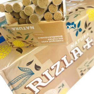 Filtre BIO Rizla, RIZLA, rouleurs de cigarette, Filtre ultra slim biodégradable, filtres biodégradables, filtre en acétate,