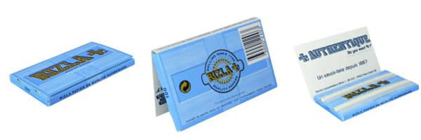 Papier cigarette à rouler Rizla bleu pas cher, rouleurs de cigarettes, cigarette roulé, fumeur de cigarette de rouler, paquet de cigarette, rouleuse à cigarette pas cher, feuille à rouler Rizla bleu, Prix feuille a rouler bureau de tabac,