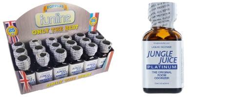 Poppers Jungle Juice Platinium, display poppers Jungle Juice Platinium, boite de poppers, Poppers Jungle Juice Platinium pas cher, poppers stimulant, aphrodisiaque, Poppers petit prix