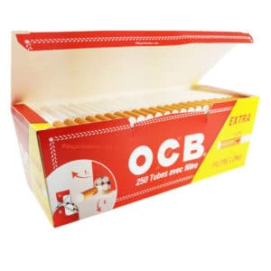 OCB 250 tube à rouler extra long, tube extra long ocb, tube ocb extra long, tube à rouler extra long, tube ocb