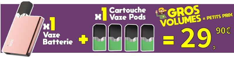 vaze pod avis, vaze pod, vaze cigarette, vaze pod recharge, juul compatible pods, cartouche vape, cartouche vaze