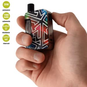 grafik nhoss, grafik taille réel, cigarette electronique nhoss, cig elec pod mod
