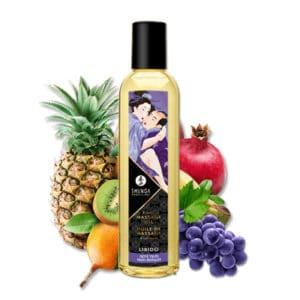 huile de massage, huile de massage naturel, huile de massage fruits exotiques, massage couple, huile massage, massage a huile