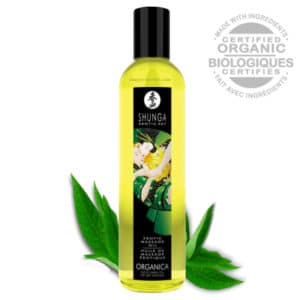 huile massage Thé shunga, shunga KISSABLE Thé Vert Exotique huile massage, huile massage pas cher, massage chauffant, huile de massage, huile massage aphrodisiaque, shunga, huile de massage shunga