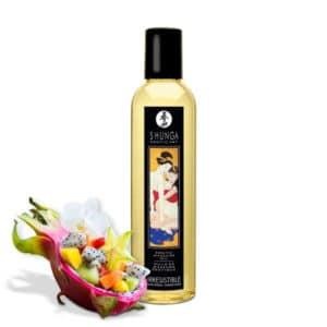 huille massage Fruit Dragon shunga, shunga Irrésistible Fusion Asie huile massage, huile massage pas cher, massage chauffant, huile de massage, huile massage aphrodisiaque, shunga, huile de massage shunga