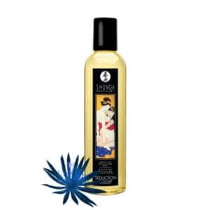 huille massage Fleur Minuit shunga, shunga Seduction Fleur Minuit huile massage, huile massage pas cher, massage chauffant, huile de massage, huile massage aphrodisiaque, shunga, huile de massage shunga