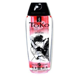 Gel lubrifiant parfumé cerise, gel lubrifiant toko shunga, Gel lubrifiant pas cher, Lubrifiant gel prix, Gel lubrifiant shunga toko, Lubrifiant toko, shunga gel lubrifiant