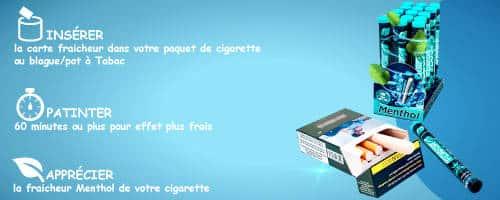 menthol, cigarette menthol, flavor stone, tube menthol,