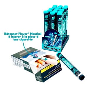 flavor stone, cigarette menthol, tube menthol, menthol, carte menthol