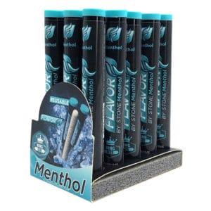 Flavor Stone menthol, menthol, cigarette menthol, flavor stone, tube menthol