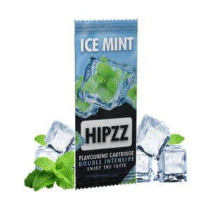 Carte aromatique ice mint, hippz carte menthe glacée, ice mint cigarette, cigarette menthol, menthol