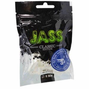 Filtre 6mm jass, filtre à rouler, filtre pas cher, grossiste de feuille à rouler, bureau de tabac en ligne, sachet de filtre jass, jass filter, jass air flow, filtre en mousse, filtre mousse jass