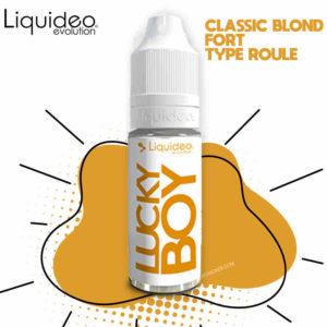 liquideo lucky boy, recharge e-liquide lucky boy, meilleur e liquide tabac, e-liquide classic fort, liquide tabac, lucky boy e-liquide, lucky boy liquideo, tabac blond eliquide, lucky boy 10 ml, meilleur e-liquide tabac blond