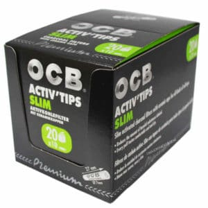 filtre ocb pas cher, filtre ocb activ'tips charbon actif, filtre à cigarette, filtre active tips ocb, filtre tips ocb, filtre à cigarette, filtre pour rouler, filtre ocb charbon actif, filtre charbon actif ocb, filtre tips charbon actif