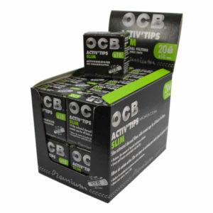 Boite de filtre ocb pas cher, bureau de tabac en ligne, filtre charbon actif ocb, ocb activ'tips, ocb filtre, filtre ocb pas cher, filtre au charbon actif activ'tips, filtre activ'tips, filtre en céramique, ocb charbon actif