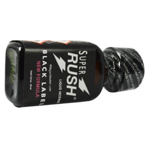 Poppers super rush, Super Rush Black Label, poppers pas cher, poppers authentique, utilisation poppers,
