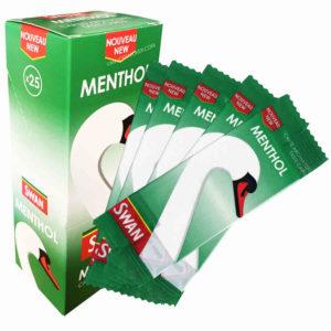 carte fraicheur swan, carte menthol, cigarette menthol, tube menthol, filtre menthol, carte fraicheur menthe