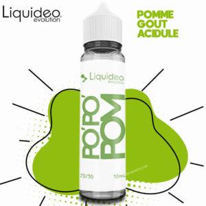 e-liquide pomme pas cher, e-liquide pomme, liquideo pomme, e-liquide goût pomme, e-liquide pomme pas cher, po'po'pom liquideo, e-liquide pas cher, e-liquide fruité, meilleur e-liquide goût fruit, e-liquide liquideo pomme