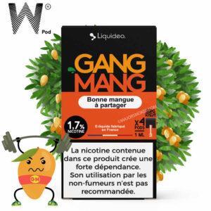 gang mang pod, pod goût mangue, gang mang liquideo wpod, pod compatible juul, e-liquide mangue pas cher, liquideo wpod, meilleur e-liquide mangue, pods mangue, e-liquide saveur mangue pod, cartouche compatible juul