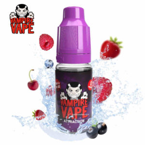 attraction vampire vape, e liquide attraction vampire vape, e liquide fruité pas cher, vampire vape attraction pas cher, avis attraction vampire vape, e liquide attraction, liquide ecig attraction, vampire vape pas cher, vampire vape attraction 10ml, e liquid attraction