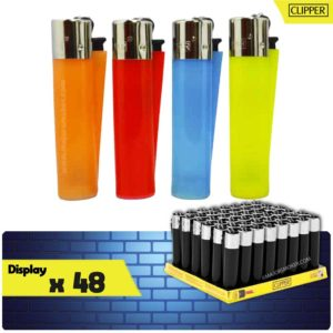 clipper briquet, briquets pas cher, lot de briquets, clipper transparent, clipper couleur