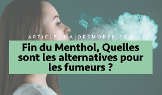 menthol, cigarette menthol, alternative cigarette menthol, fumer une cigarette menthol, fumée menthol, filtre menthol, tube menthol