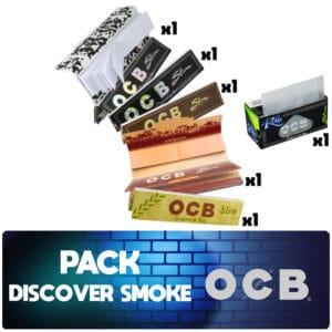 ocb slil tips', ocb marron virgin, ocb chanvre bio, ocb roll's