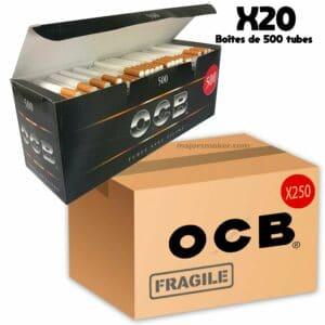 tube ocb 500 prix, tube cigarette ocb, tube de 8, boite pas cher, prix boite tube ocb 500, prix des tubes ocb, ocb, prix feuille ocb, feuille ocb, ocb slim